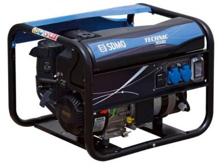 Бензогенератор SDMO Technic 3000, 230В, 3 кВт - 255