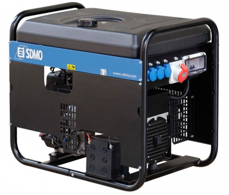 Бензогенератор SDMO Technic 7000 E, 230В, 5.8 кВт - 262