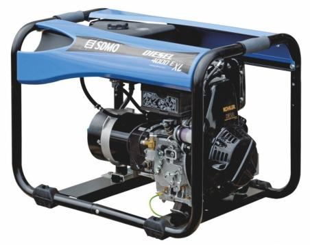 Дизельная электростанция SDMO Diesel 4000 XL 230В, 3 кВт - 266