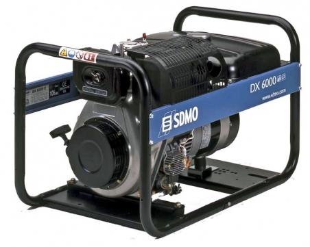 Дизельная электростанция SDMO DX 6000 E 230В, 5.2 кВт - 267