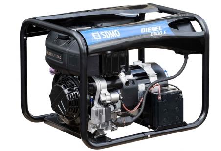Дизельная электростанция SDMO Diesel 6000 E 230В, 5.2 кВт - 268