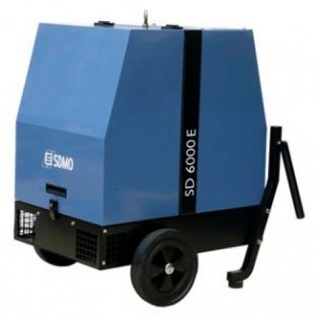 Дизельная электростанция SDMO SD 6000E 230В, 4.7 кВт - 270