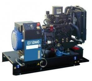 Дизельная электростанция SDMO XP-T9KM 230В, 7.8 кВт - 272
