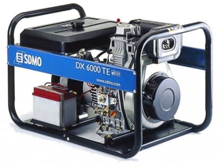 Дизельная электростанция SDMO DX 6000 TE 400/230В, 5.2 кВт - 277