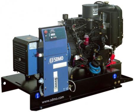 Дизельная электростанция SDMO XP-T12HK 400/230В, 9.6 кВт - 279