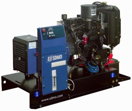 Дизельная электростанция SDMO T 8K Nexys, 400/230В, 6.8 кВт - 283