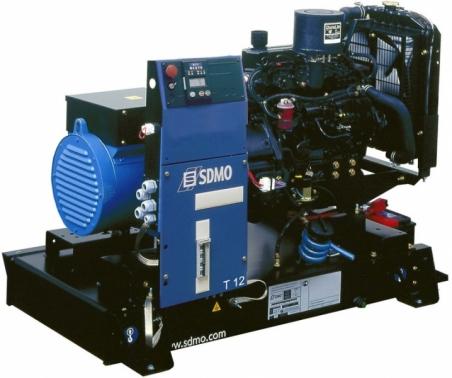 Дизельная электростанция SDMO T 12K Nexys, 400/230В, 10.5 кВт - 284