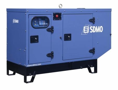 Дизельная электростанция SDMO T 12K Silent 400/230В, 10.5 кВт - 288