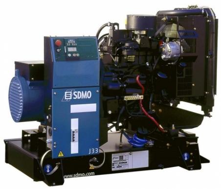 Дизельная электростанция SDMO J33 Nexys, 400/230В, 24 кВт - 298