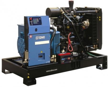Дизельная электростанция SDMO J110K Nexys, 400/230В, 100 кВт - 303