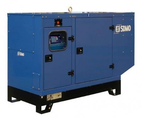 Дизельная электростанция SDMO J33 Nexys Silent, 400/230В, 24 кВт - 312