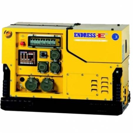 Бензиновый электрогенератор ENDRESS ESE 1408 DBG ES DIN Silent - 1552