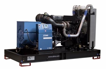 Дизельная электростанция SDMO V550 K, 400/230В, 440 кВт - 334