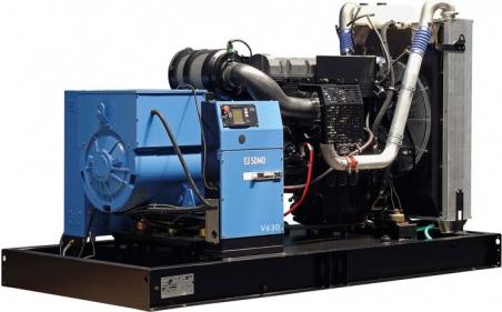 Дизельная электростанция SDMO V630 K, 400/230В, 504 кВт - 335