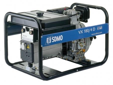 Дизельная сварочная электростанция SDMO VX 180/4 DE, 230В, 5 кВт - 347