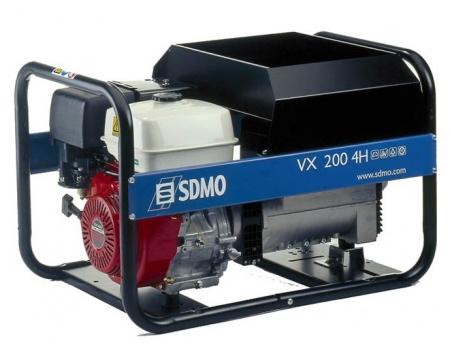 Сварочный бензиновый агрегат SDMO VX200/4H, 230В, 4 кВт - 349