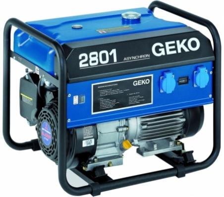 Бензогенератор Geko 2801 E-A/MHBA 230В, 2.5 кВт - 352