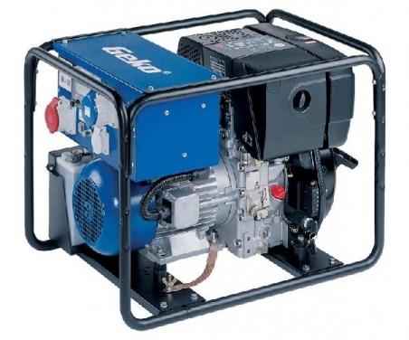 Дизельная электростанция Geko 7801 ED-AA/ZEDA 230/400 В, 5.1 кВт - 370