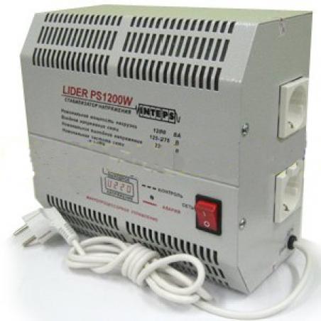 Стабилизатор напряжения Lider PS1200W-50 - 433
