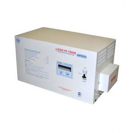 Стабилизатор напряжения Lider PS7500W-30 - 444