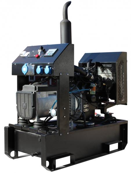 Дизельный генератор GENBOX KBT12T-3000 - 1799