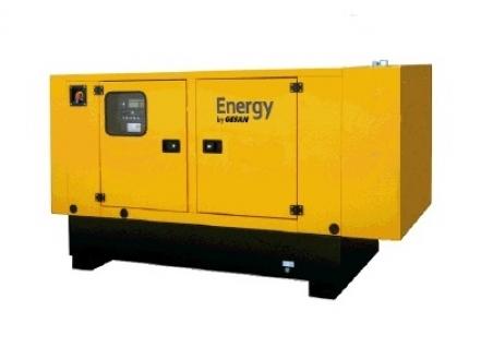 Дизельный генератор Gesan DJBS 165E ME - 695