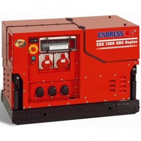 Бензиновый электрогенератор ENDRESS ESE 1308 DBG ES DUPLEX Silent - 1452