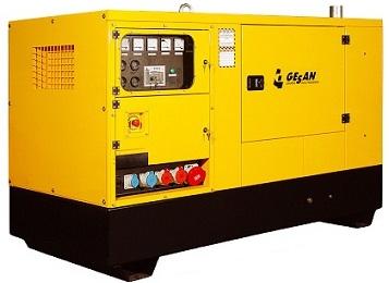 Дизельный генератор Gesan DPAS 10E SC - 724