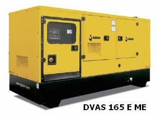 Дизельный генератор Gesan DJAS 165E ME - 736