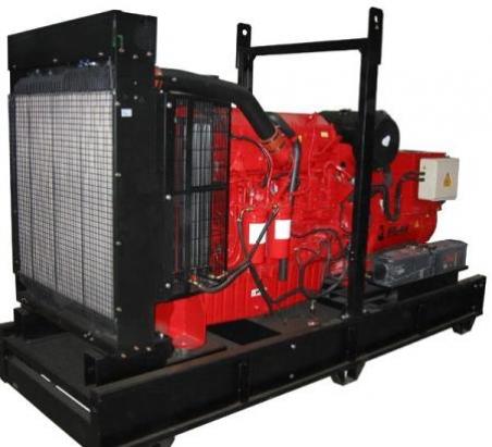 Дизельный генератор Gesan DVA 450E ME - 748