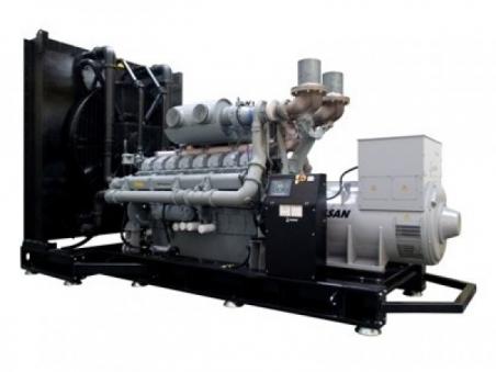 Дизельный генератор Gesan DPA 900E ME - 779