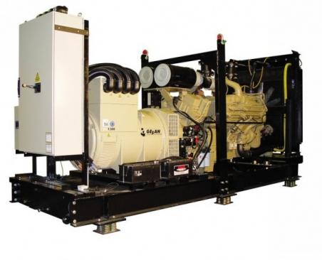 Дизельный генератор Gesan DTA 1250E ME - 785