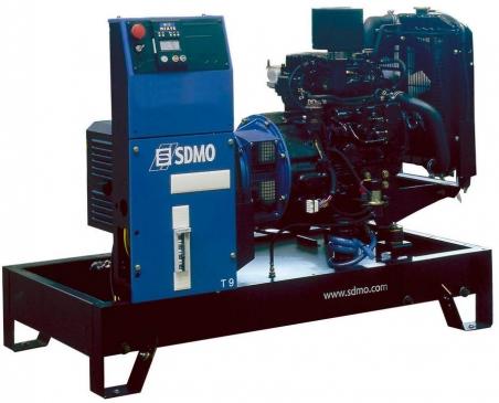 Дизельная электростанция SDMO XP-T9HK 400/230В, 7 кВт - 278