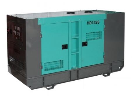 Дизель-генератор HILTT HD15SS3 - 1581