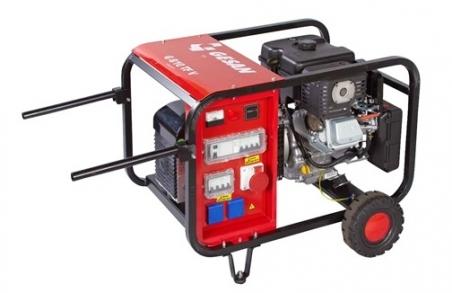 Бензогенераторная установка Gesan G8000 V L rope - 836