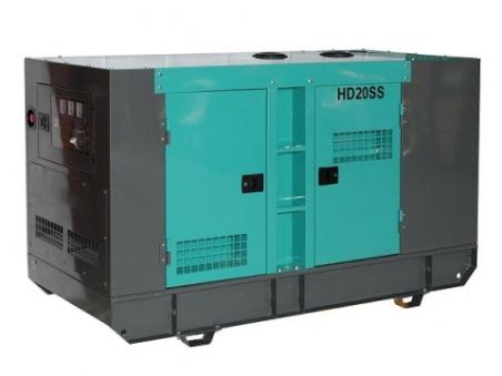 Дизель-генератор HILTT HD20SS3 - 1583