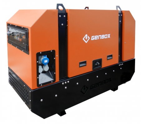 Дизельный генератор GENBOX KBT9M-3000 - 1712