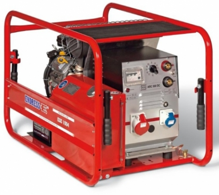 Бензиновый электросварочный генератор ENDRESS ESE 1006 SDBS-DC ES - 1475